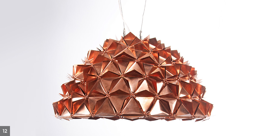 Avni Sejpal - Faceted Tactile Copper dome